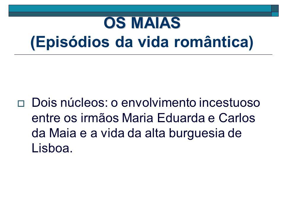 OS MAIAS (Episódios da vida romântica)