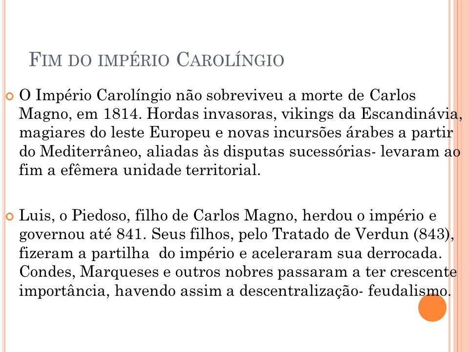 Fim do império Carolíngio