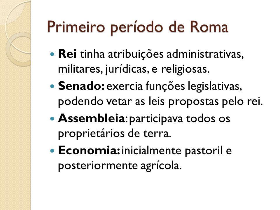 Primeiro período de Roma
