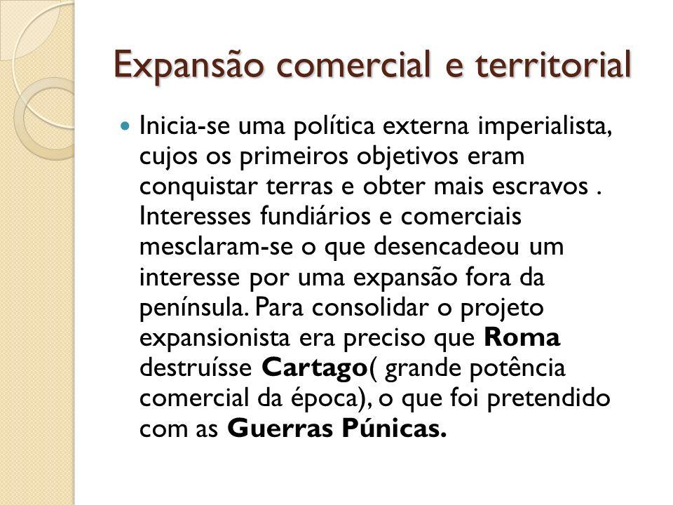 Expansão comercial e territorial