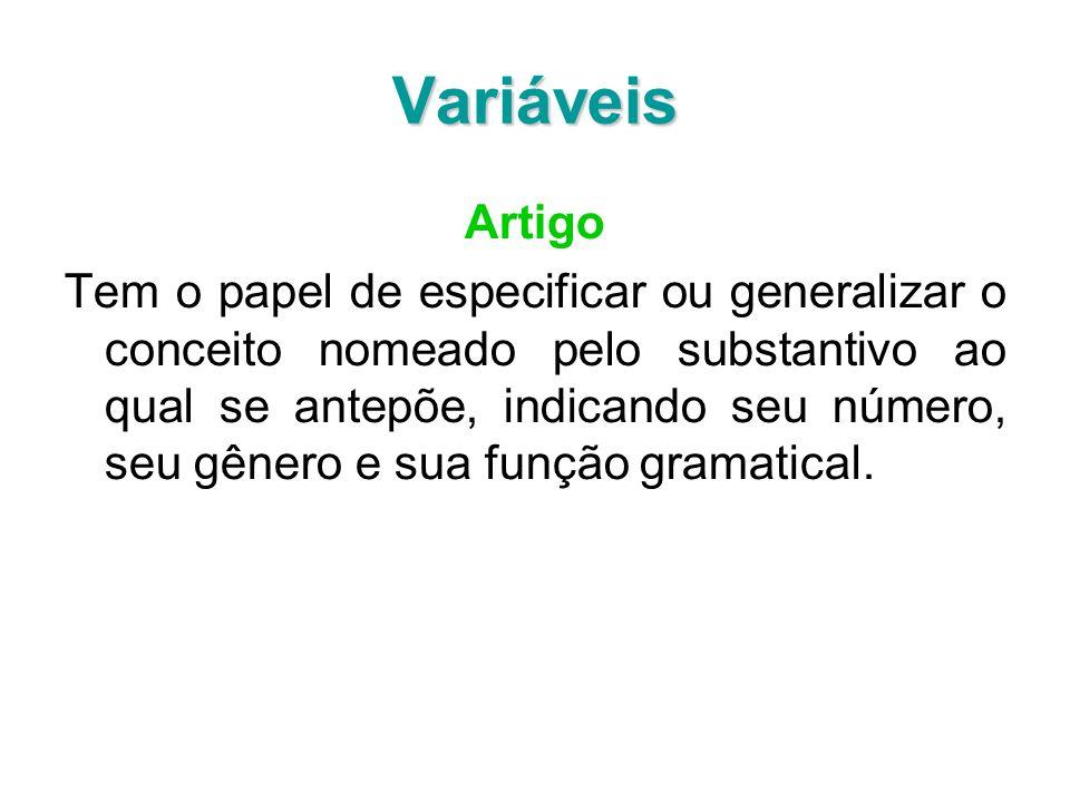 VariáveisArtigo.