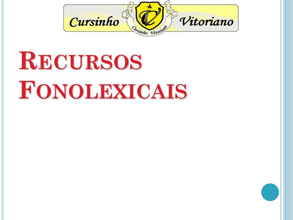 Recursos Fonolexicais