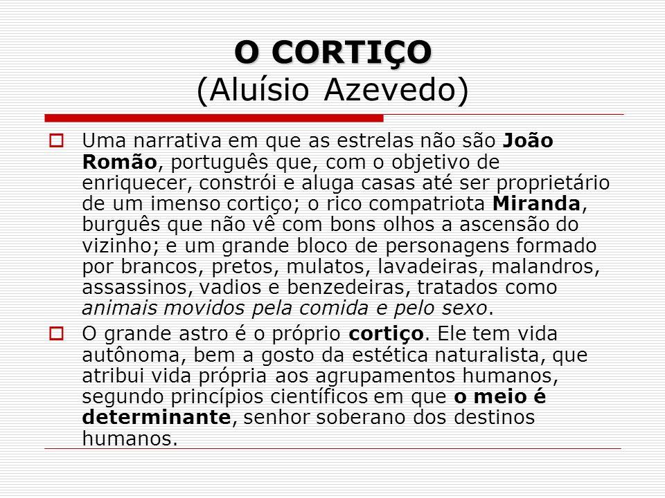 O CORTIÇO (Aluísio Azevedo)