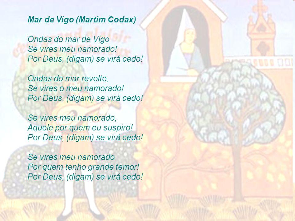 Mar de Vigo (Martim Codax)