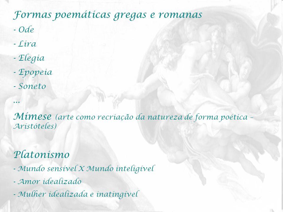 Formas poemáticas gregas e romanas