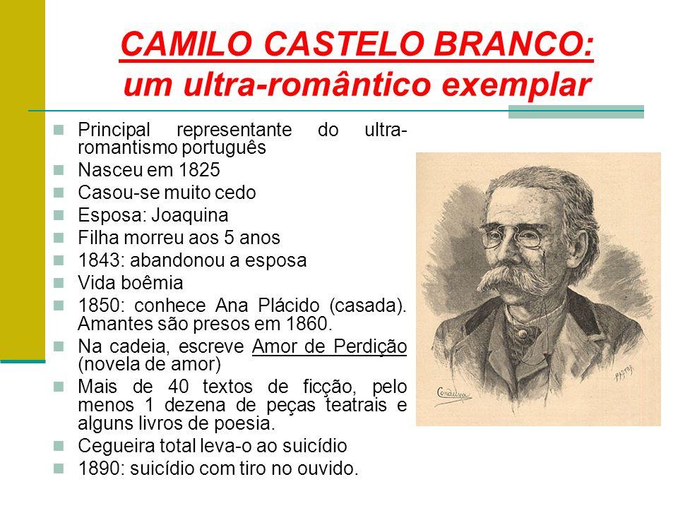 CAMILO CASTELO BRANCO: um ultra-romântico exemplar