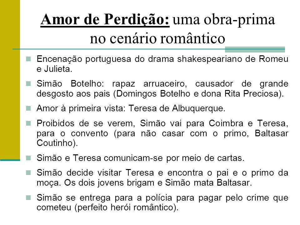 Amor de Perdição: uma obra-prima no cenário romântico