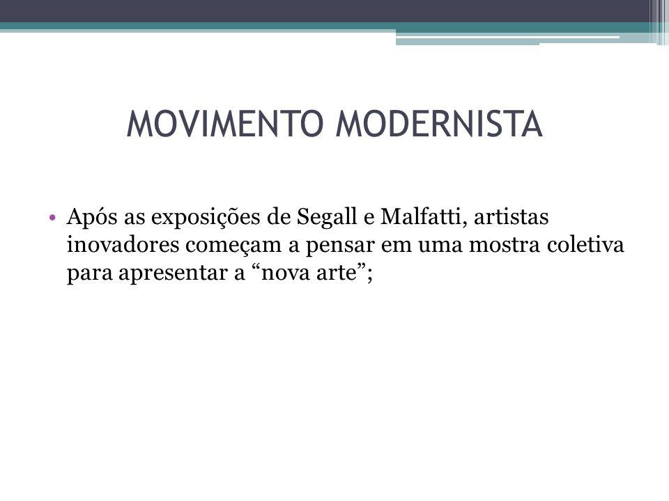 MOVIMENTO MODERNISTA