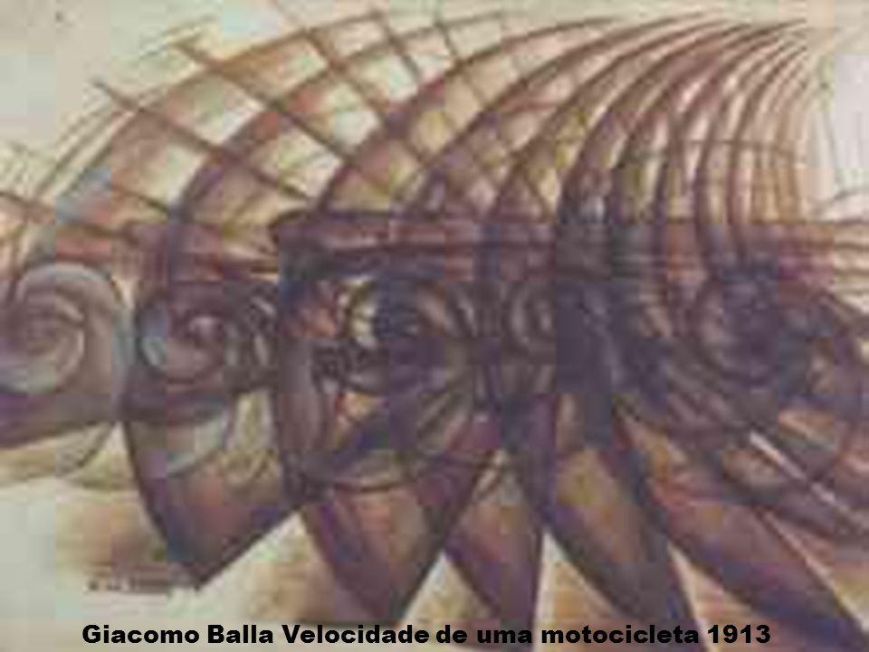 Giacomo Balla Velocidade de uma motocicleta 1913