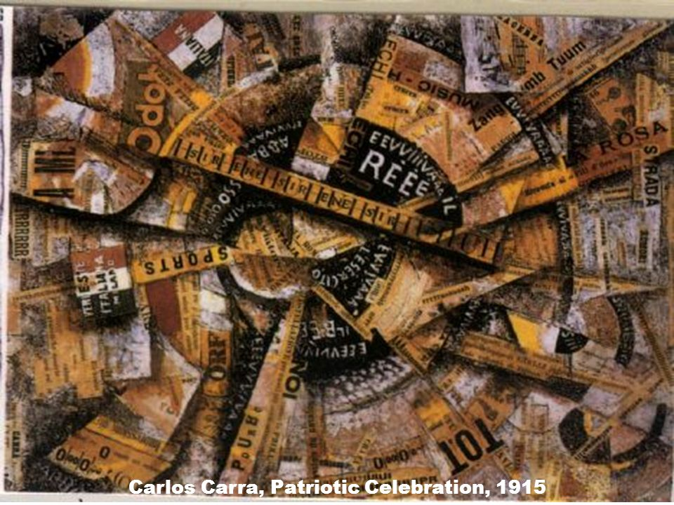 Carlos Carra, Patriotic Celebration, 1915