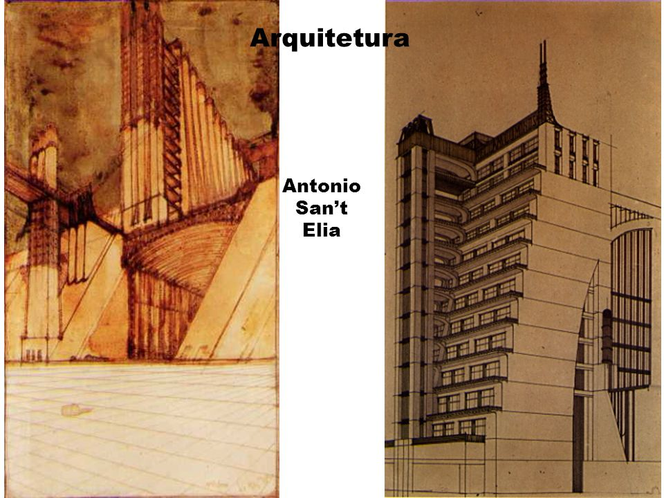Arquitetura Antonio San't Elia