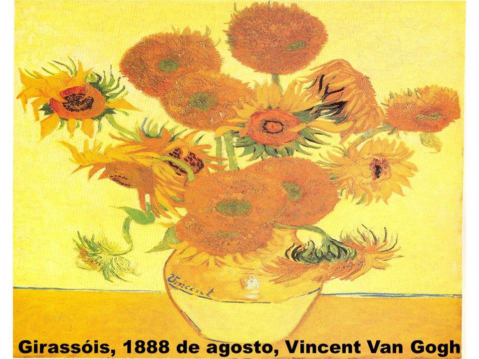 Girassóis, 1888 de agosto, Vincent Van Gogh