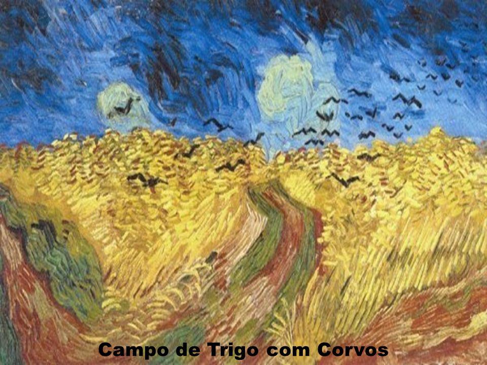 Campo de Trigo com Corvos
