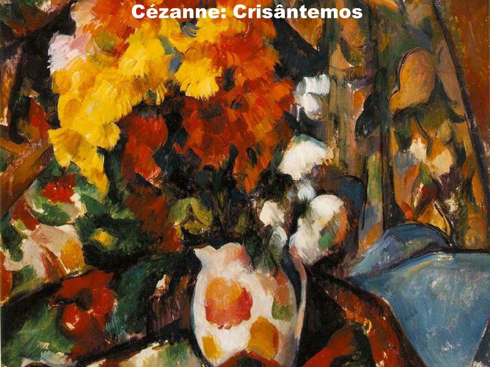 Cézanne: Crisântemos