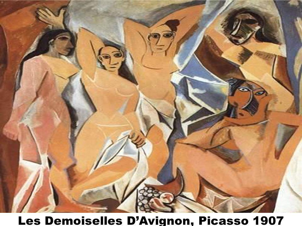Les Demoiselles D'Avignon, Picasso 1907