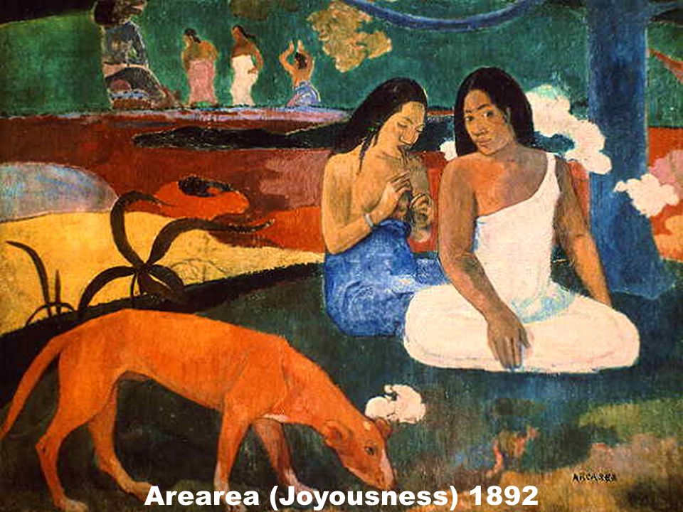 Arearea (Joyousness) 1892
