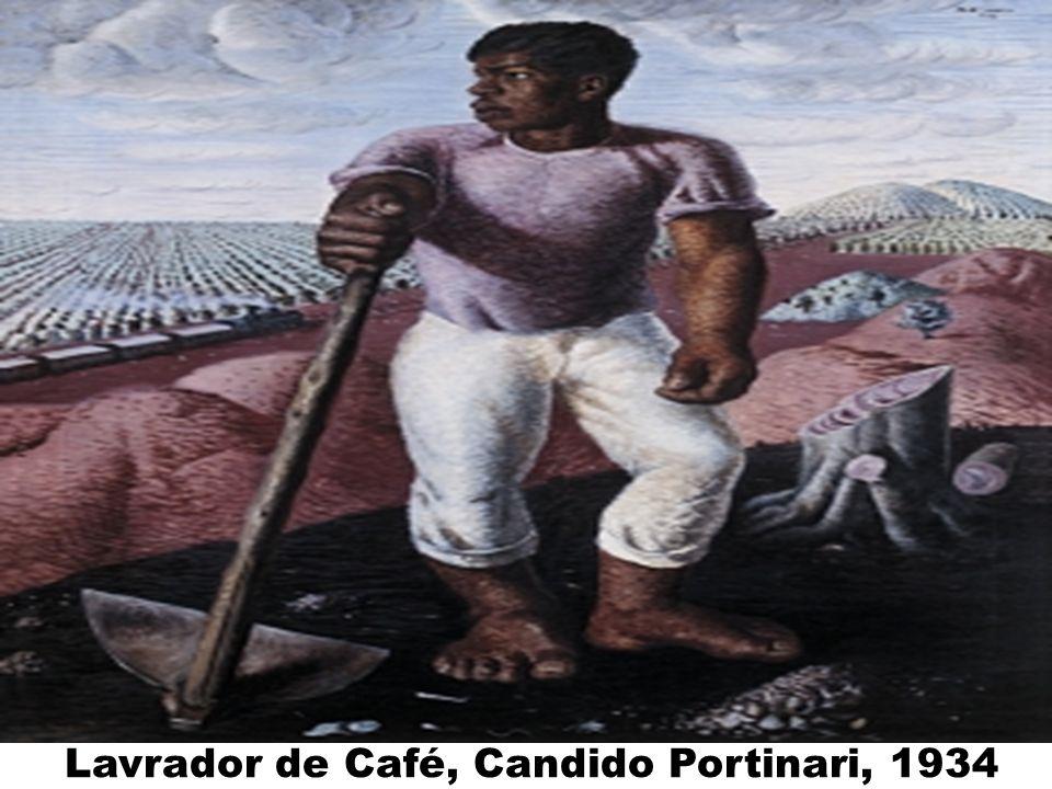 Lavrador de Café, Candido Portinari, 1934