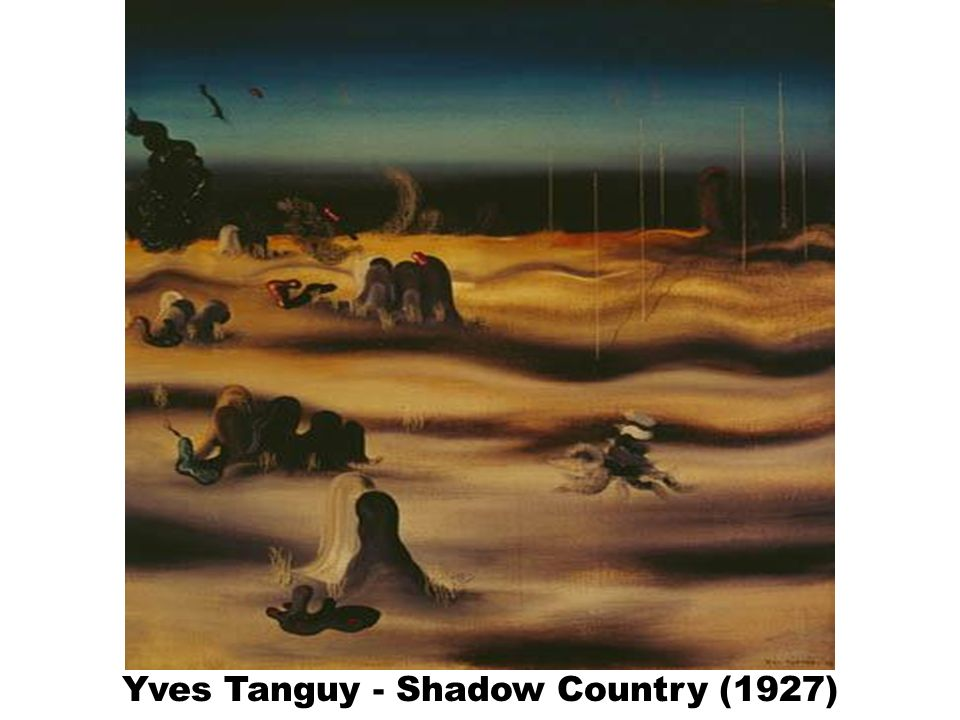 Yves Tanguy - Shadow Country (1927)