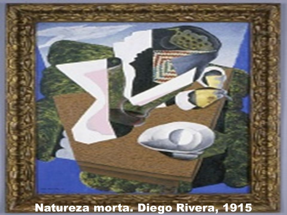 Natureza morta. Diego Rivera, 1915
