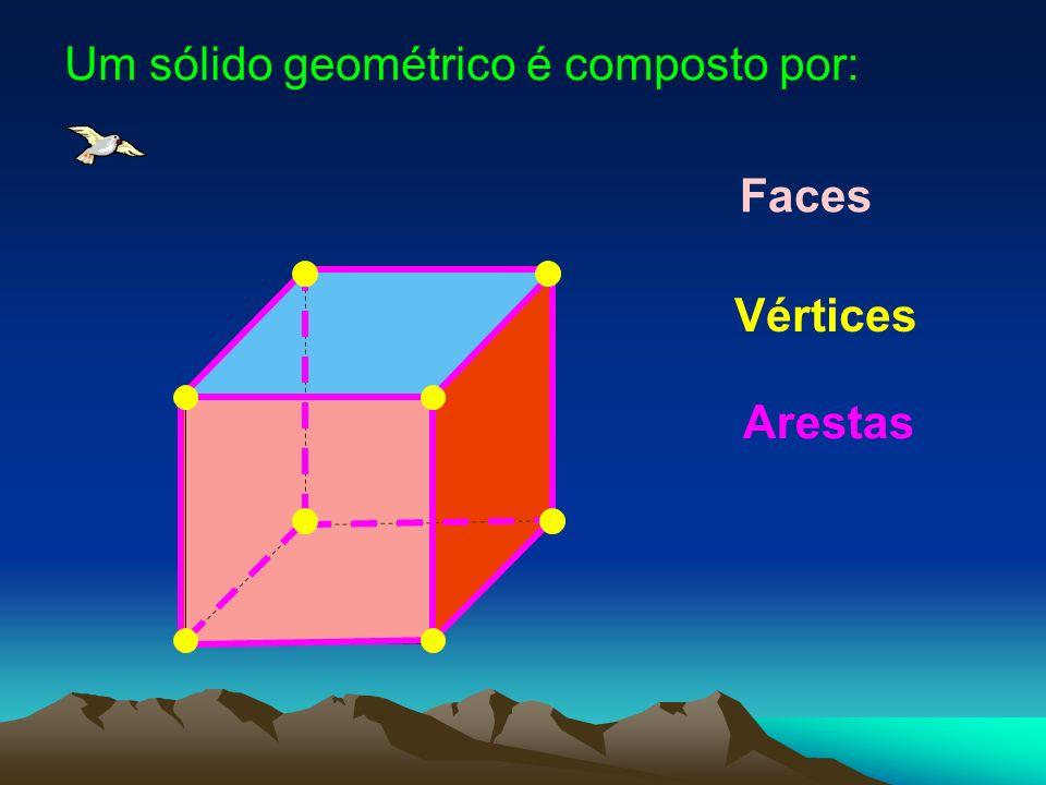 Um sólido geométrico é composto por: