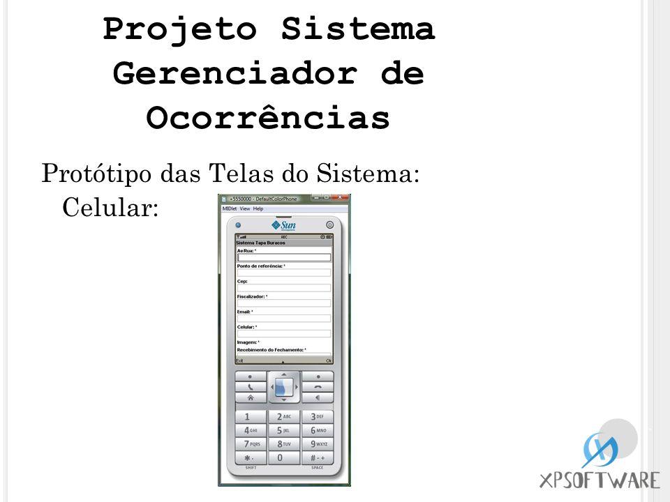 Projeto Sistema Gerenciador de Ocorrências