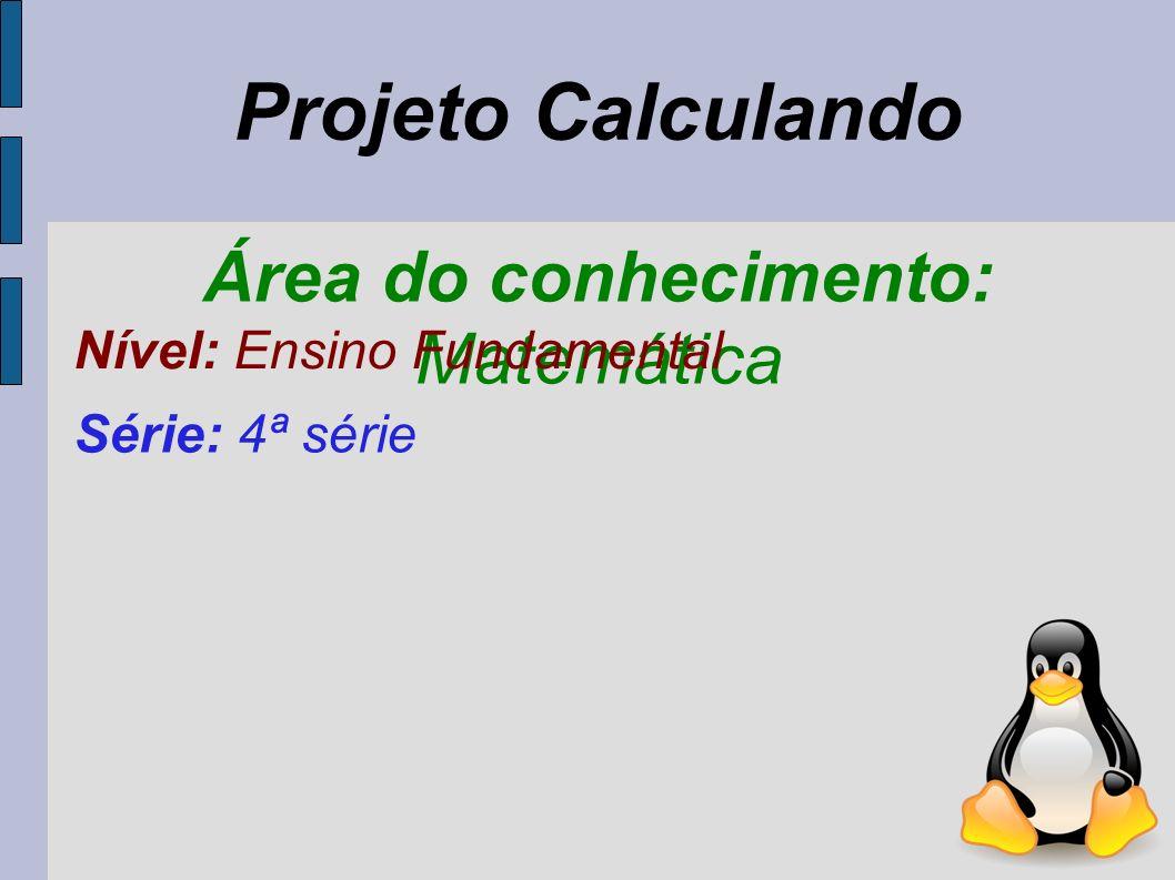 Área do conhecimento: Matemática
