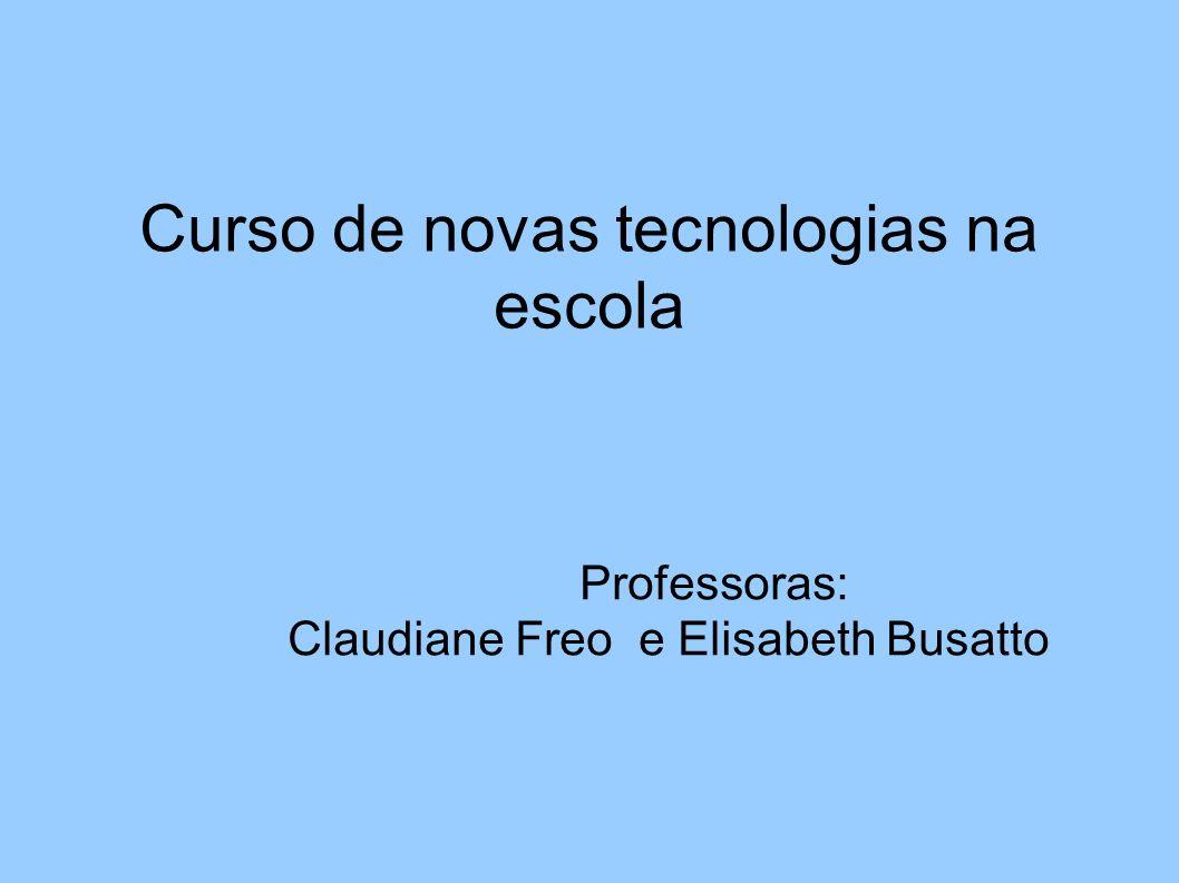 Curso de novas tecnologias na escola