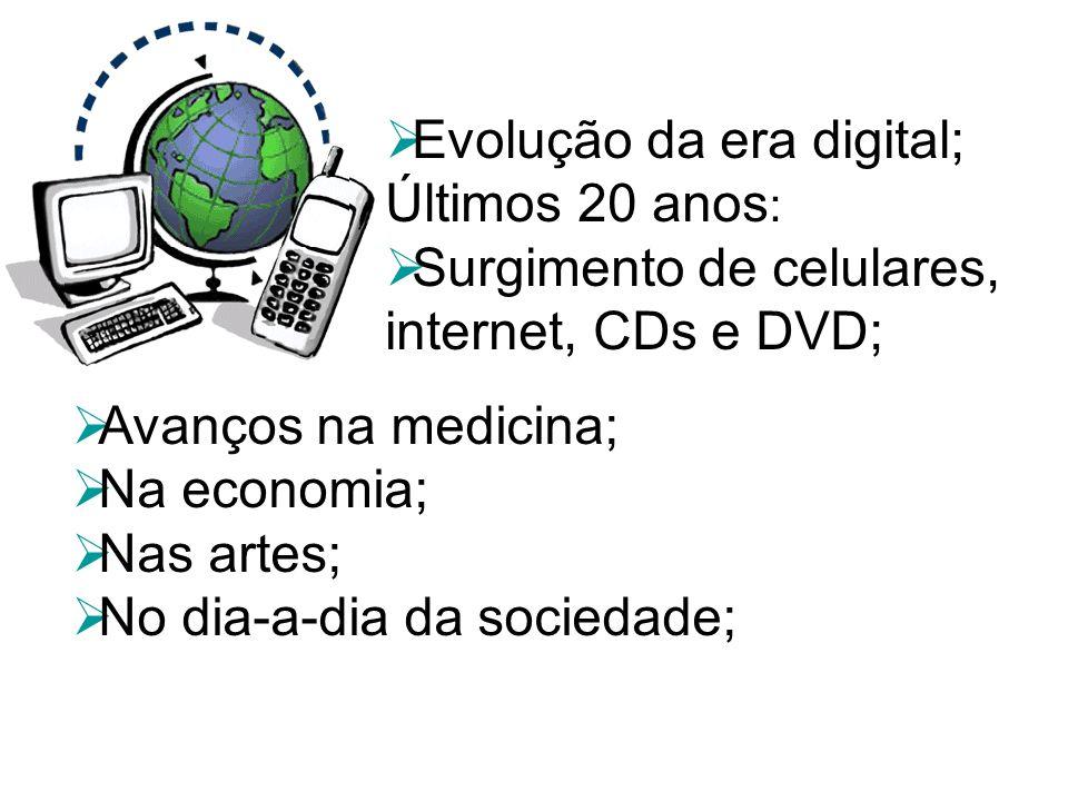 Evolução da era digital;