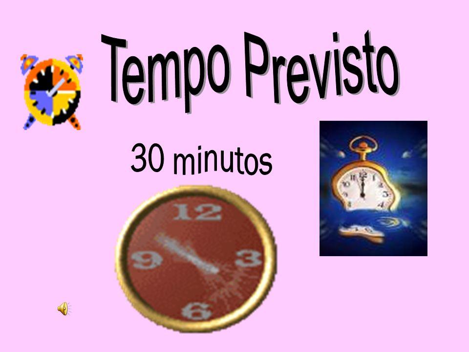 Tempo Previsto 30 minutos