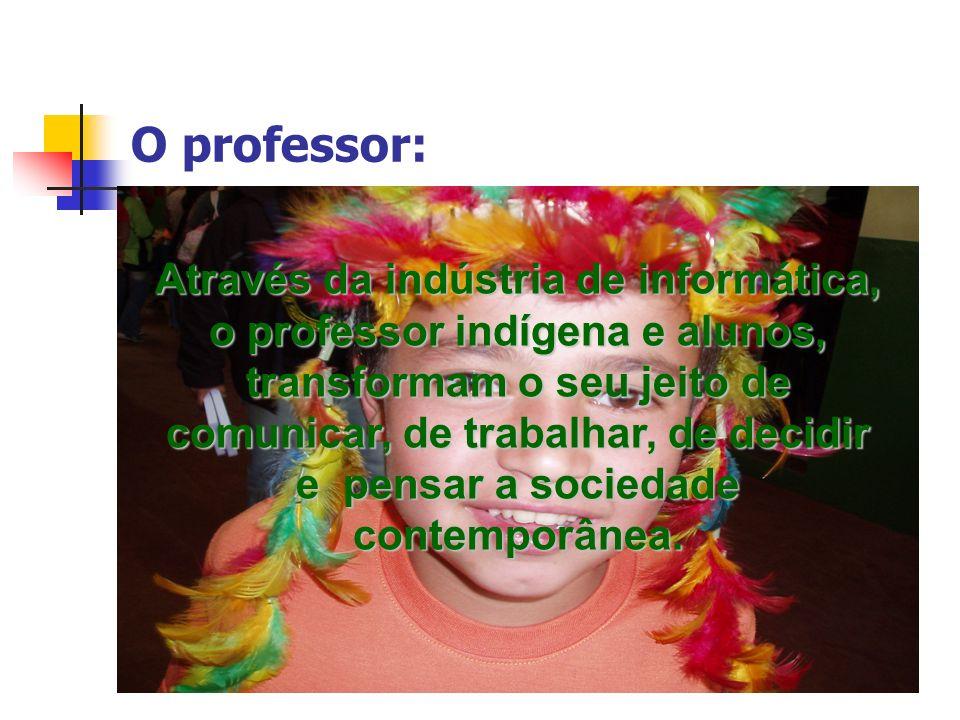 O professor: