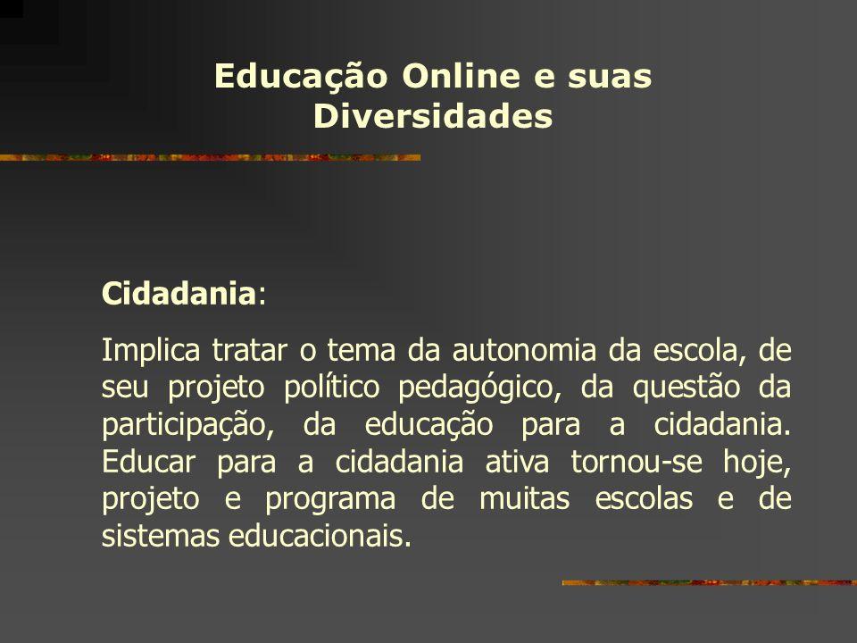 Educação Online e suas Diversidades
