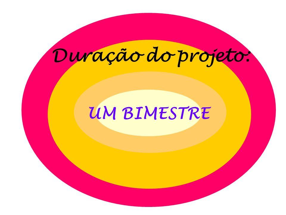 Duração do projeto: UM BIMESTRE