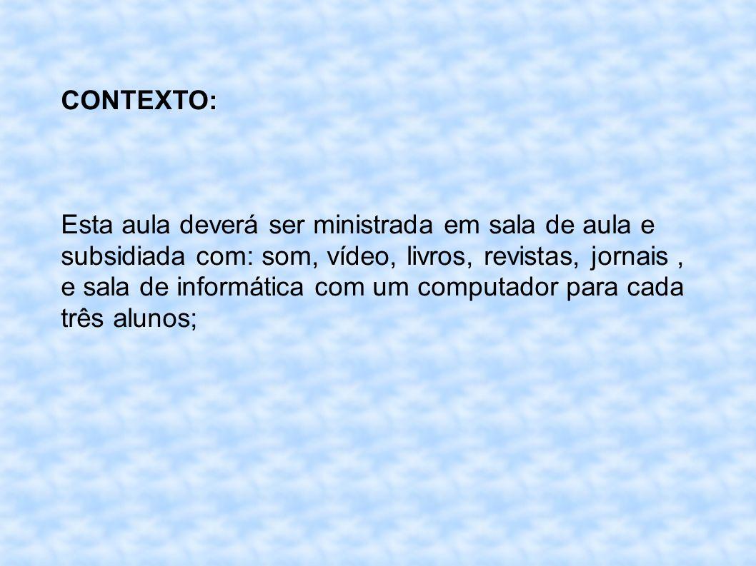 CONTEXTO: