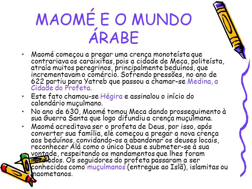 MAOMÉ E O MUNDO ÁRABE