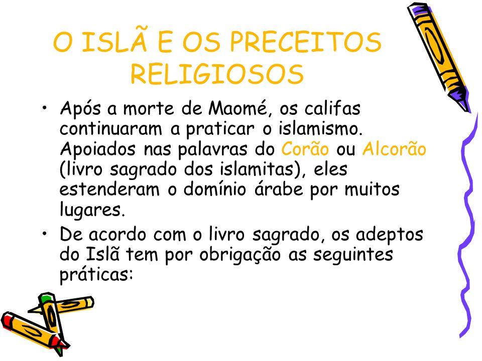 O ISLÃ E OS PRECEITOS RELIGIOSOS