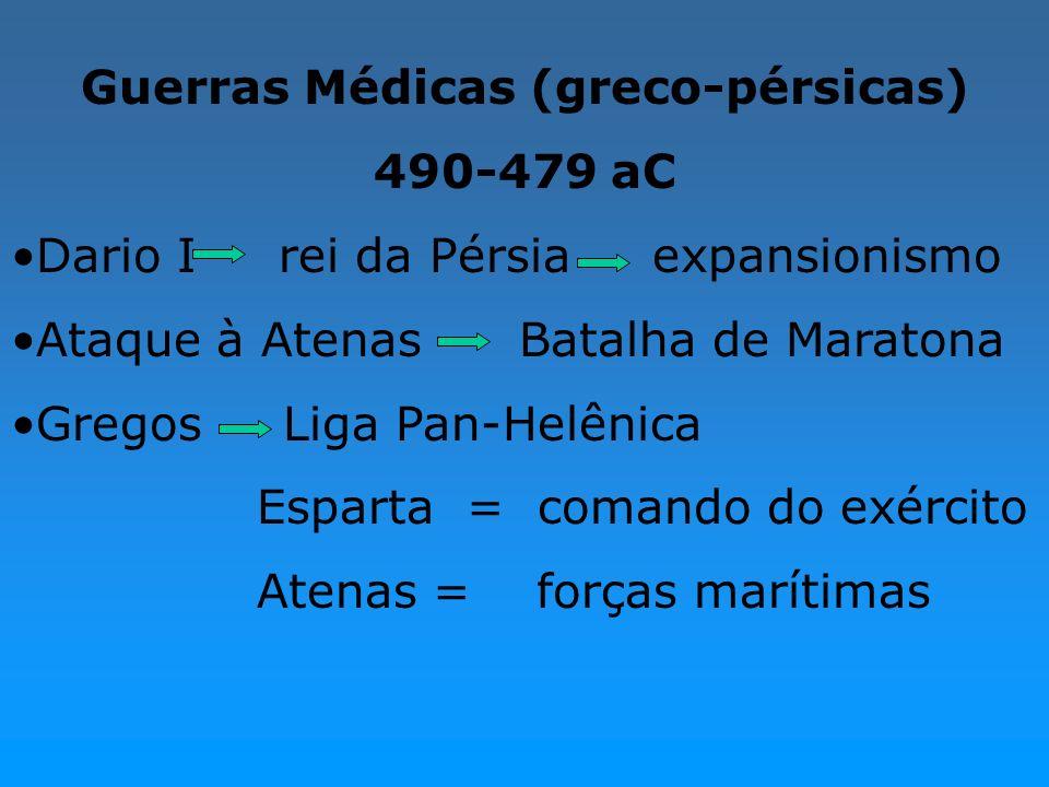 Guerras Médicas (greco-pérsicas)
