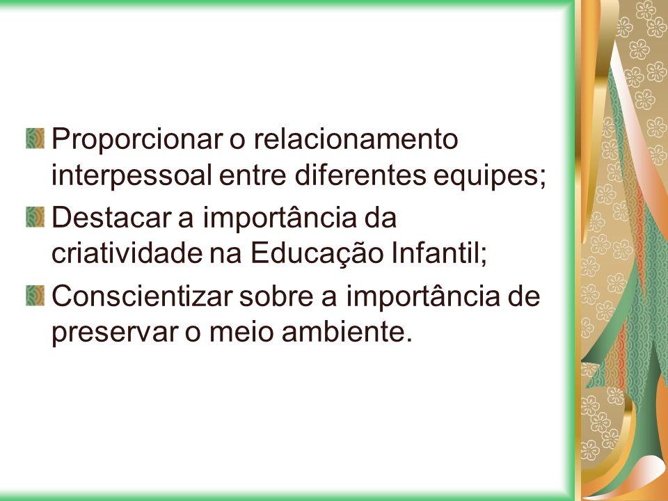 Proporcionar o relacionamento interpessoal entre diferentes equipes;