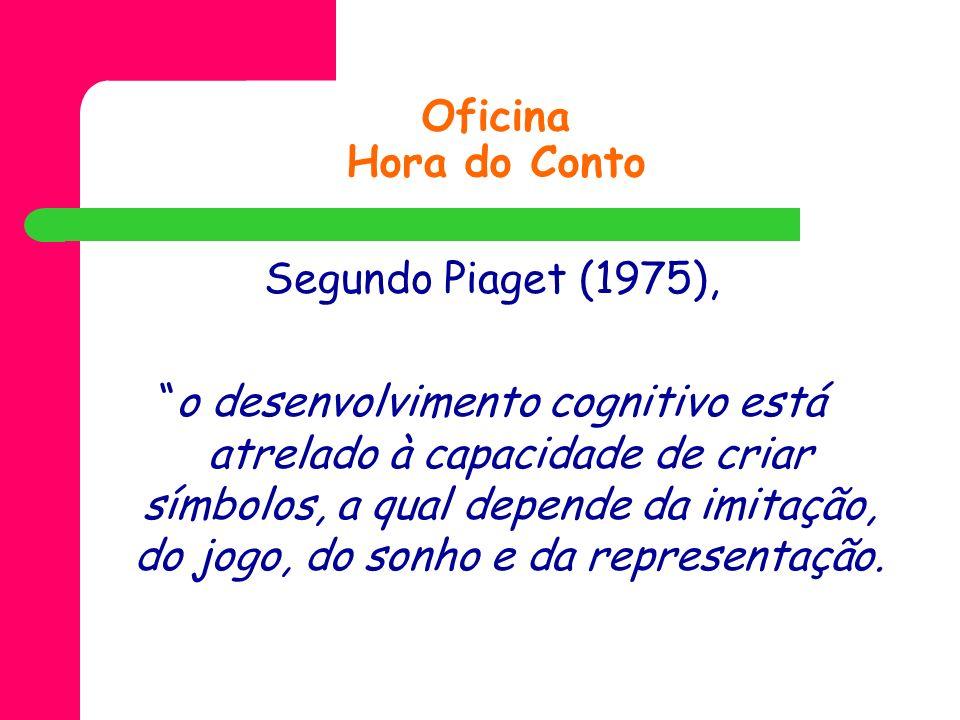 Oficina Hora do ContoSegundo Piaget (1975),