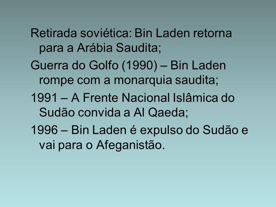 Retirada soviética: Bin Laden retorna para a Arábia Saudita;