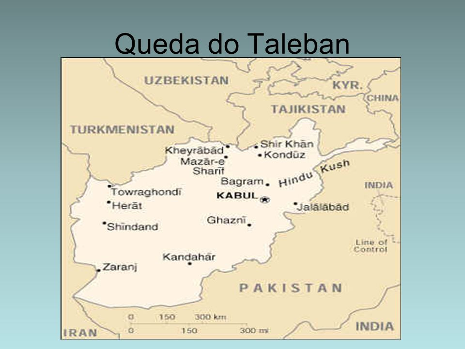 Queda do Taleban