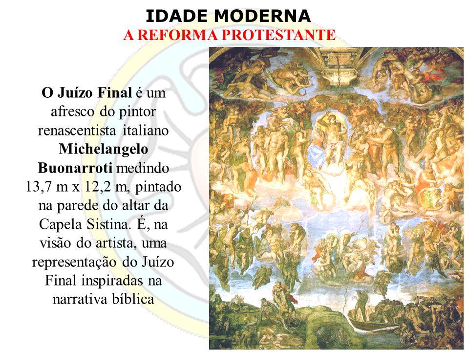 O Juízo Final é um afresco do pintor renascentista italiano Michelangelo Buonarroti medindo 13,7 m x 12,2 m, pintado na parede do altar da Capela Sistina.