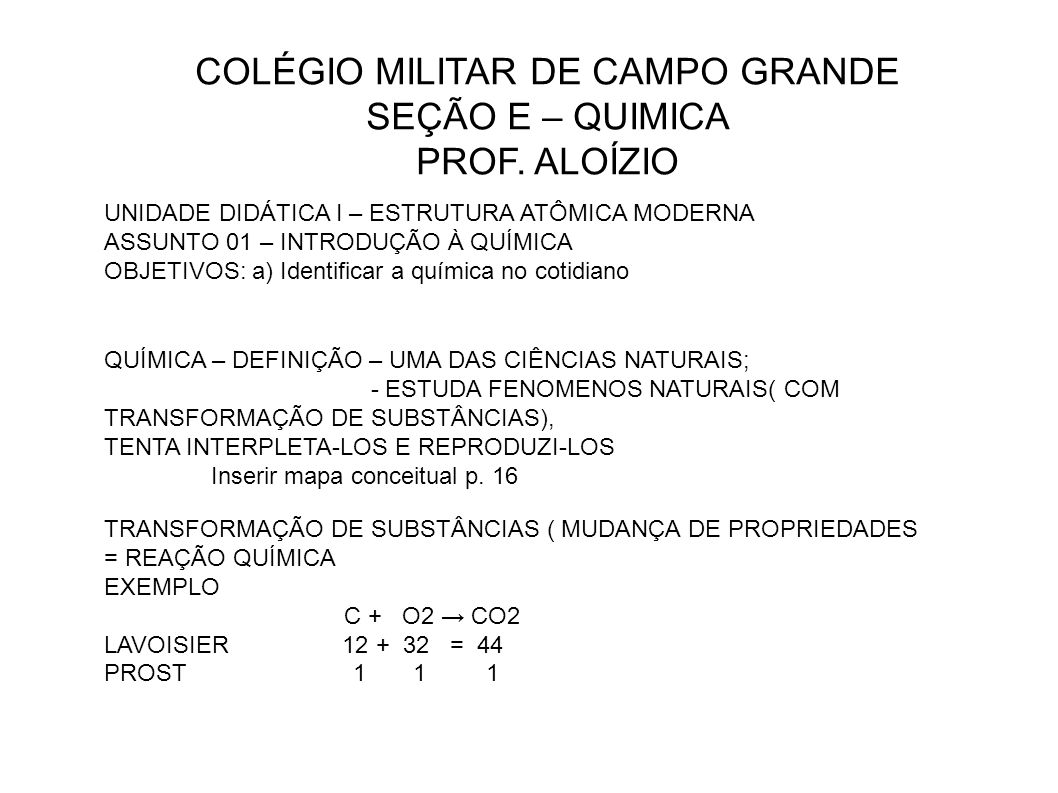 COLÉGIO MILITAR DE CAMPO GRANDE