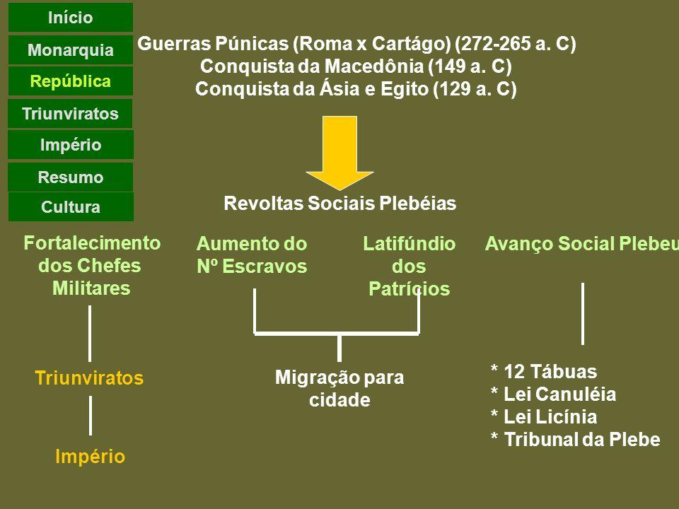 Guerras Púnicas (Roma x Cartágo) (272-265 a. C)