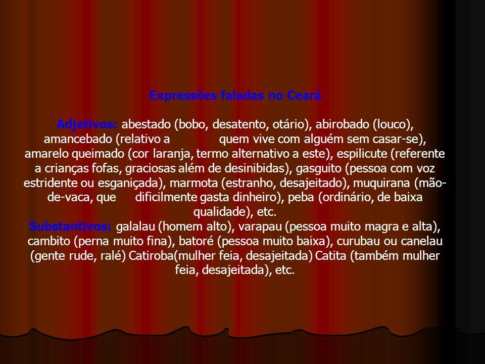 Expressões faladas no Ceará