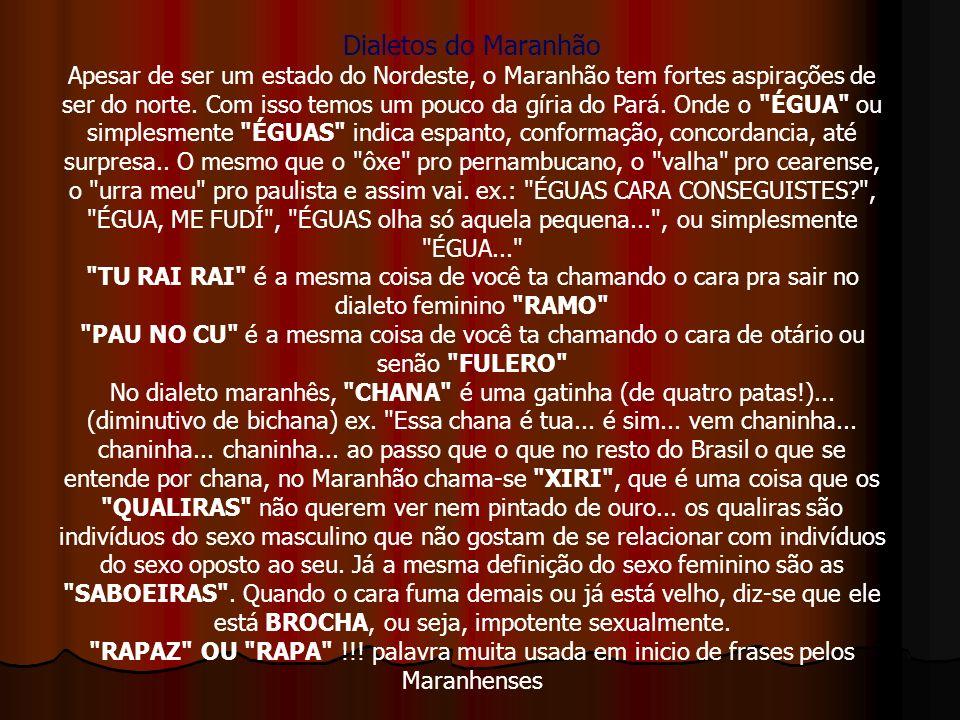 Dialetos do Maranhão
