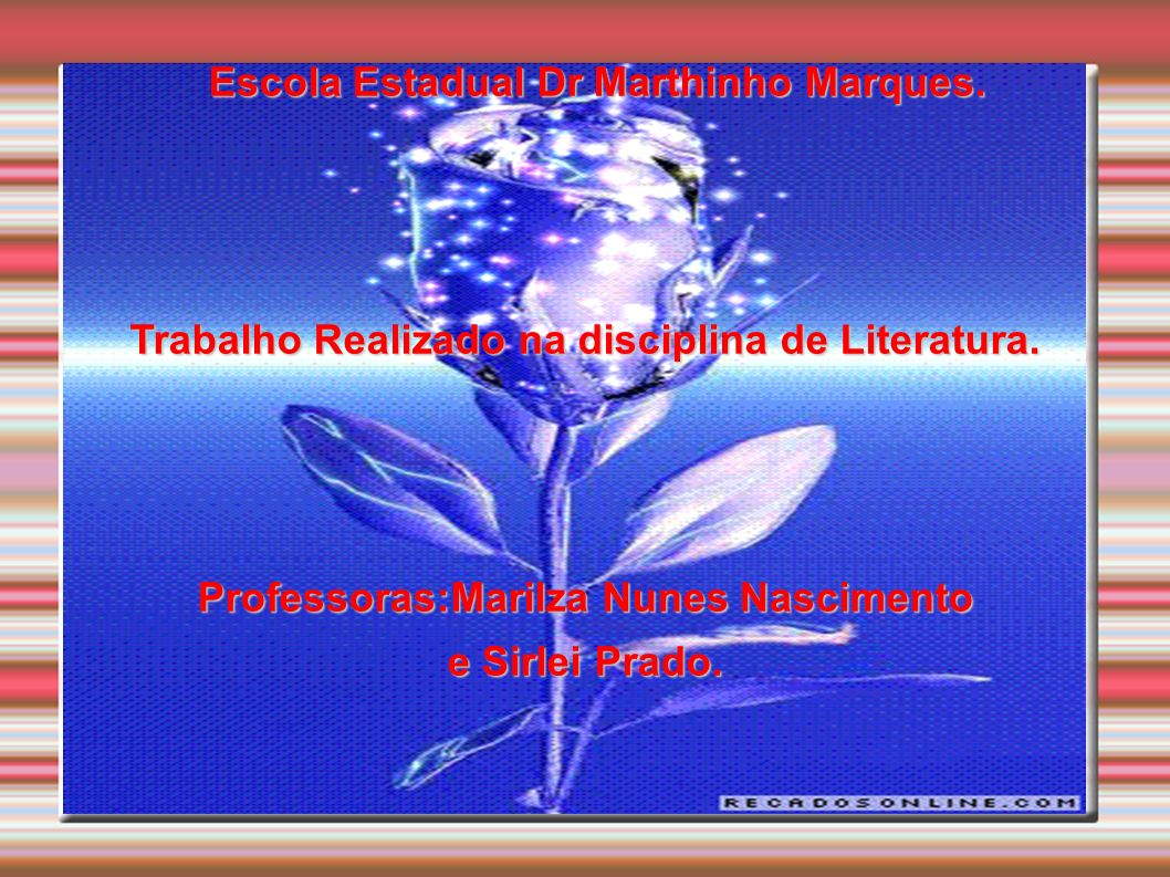 Escola Estadual Dr Marthinho Marques.