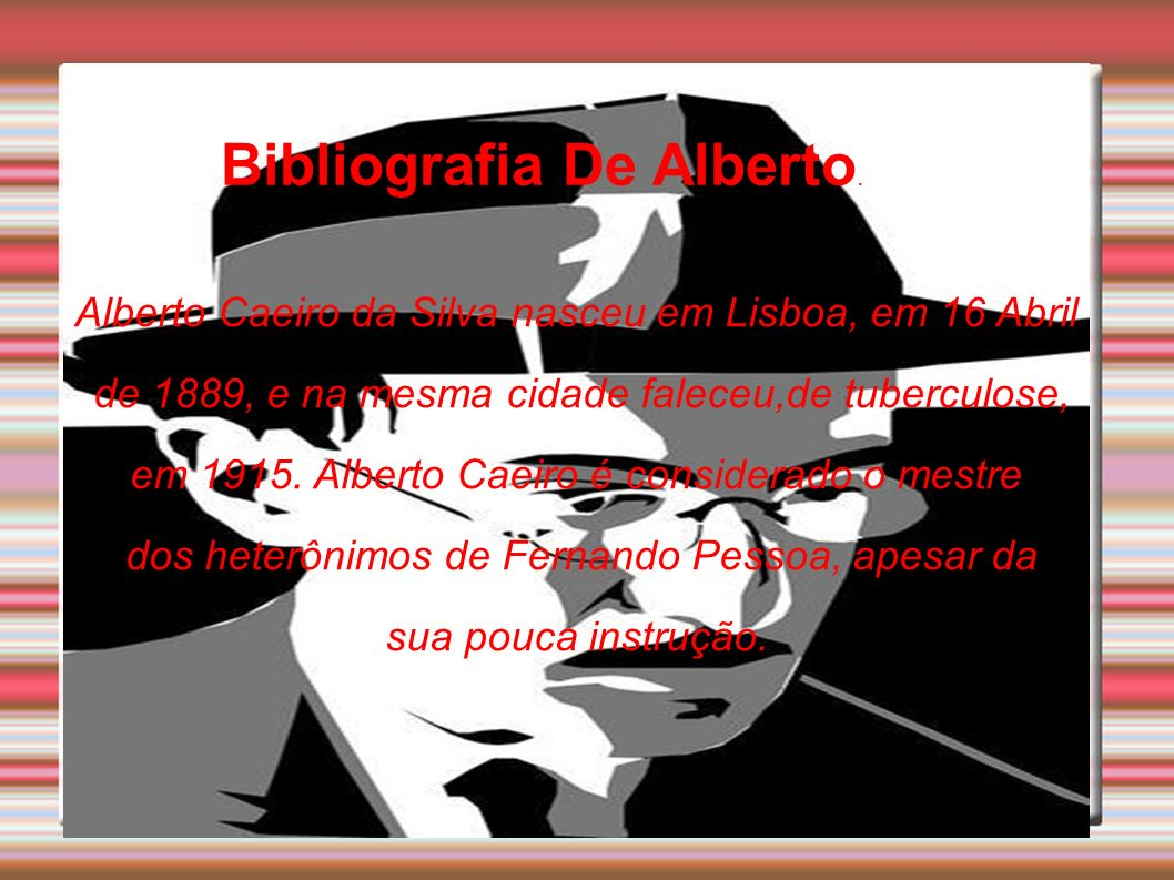 Bibliografia De Alberto.