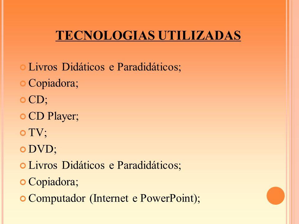 TECNOLOGIAS UTILIZADAS