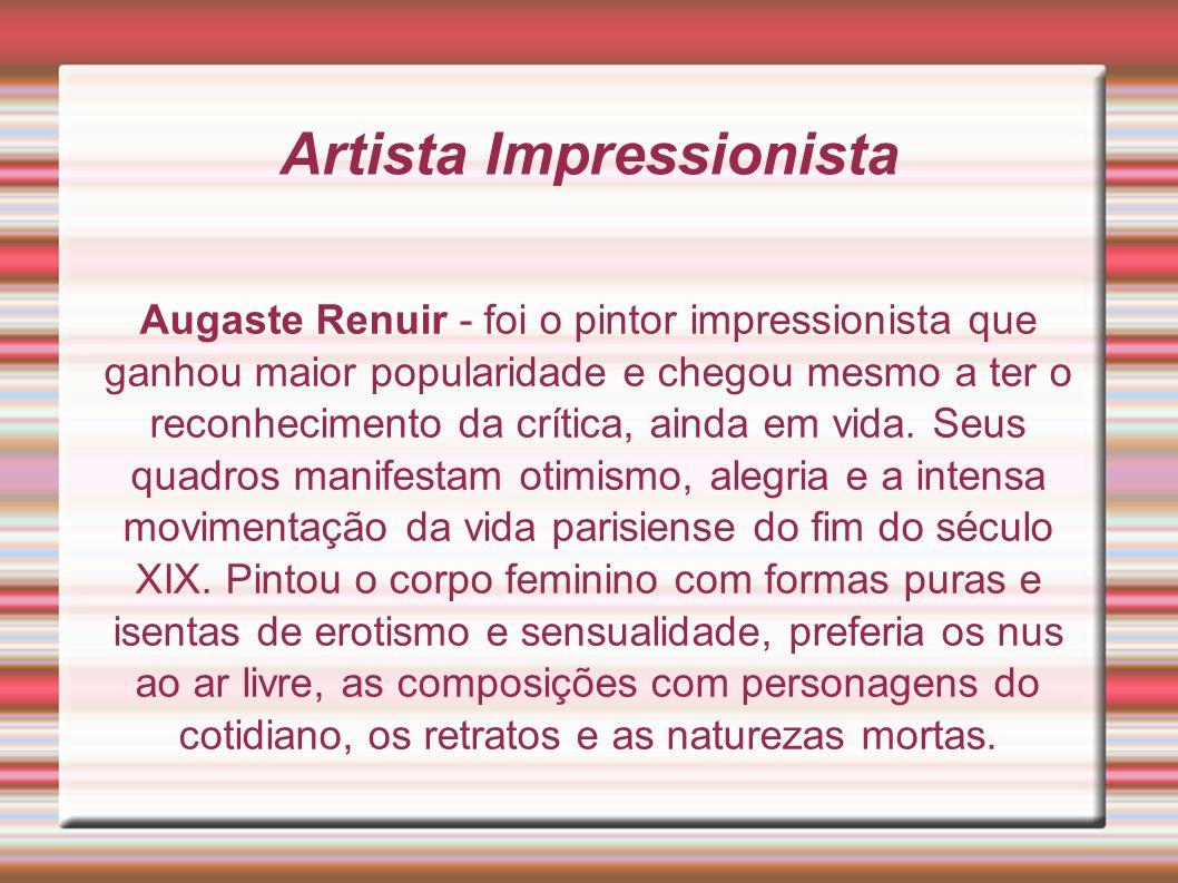 Artista Impressionista