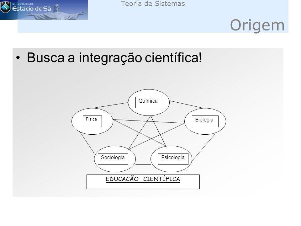 Teoria de Sistemas Origem